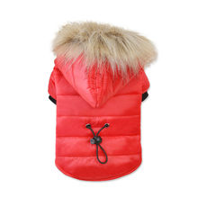 Warm Dog Clothes For Small Dogs Soft Winter Pet Clothing Chihuahua Cartoon Outfit