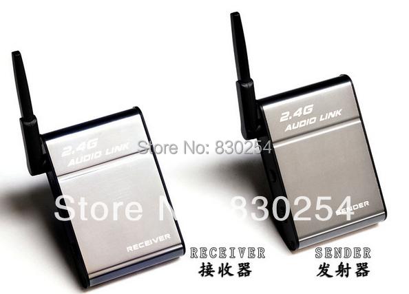 BX-501 Desxz PC Computer 2.4G Adaptador de Altavoz de Alta Fidelidad Inalámbrica RF Remitente/Socio 50 M Audio Música Receptor Enlace alta Calidad