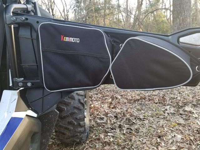 46c772a1387e KEMiMOTO UTV for Polaris RZR 900 RZR XP 1000 Door Bag Side Storage Bag Knee  Pad