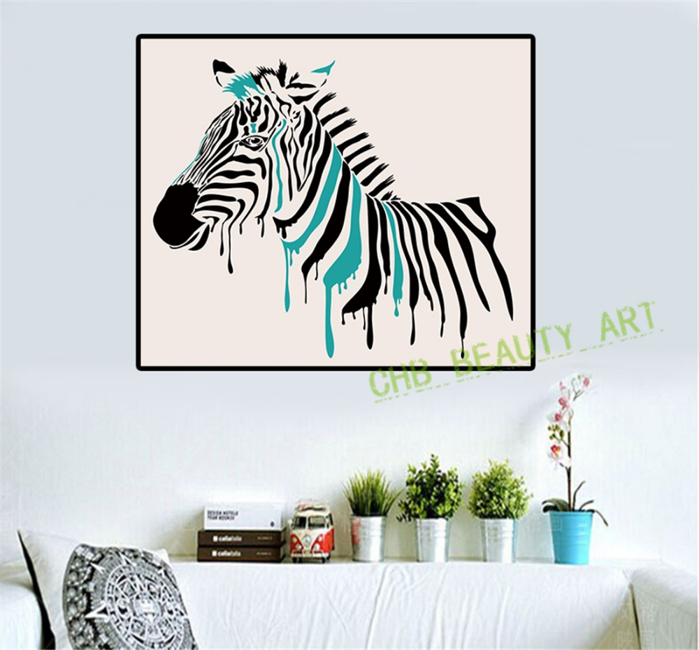 popular zebra wall art-buy cheap zebra wall art lots from china