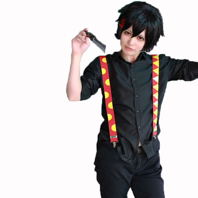 2018 Tokyo Ghoul Juuzou Suzuya Black Version Cosplay Costume In