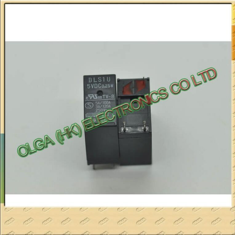 New original DEC  relay DLS1U - 5 V DLS1U photo - 5V false a compensate ten  Free shipping