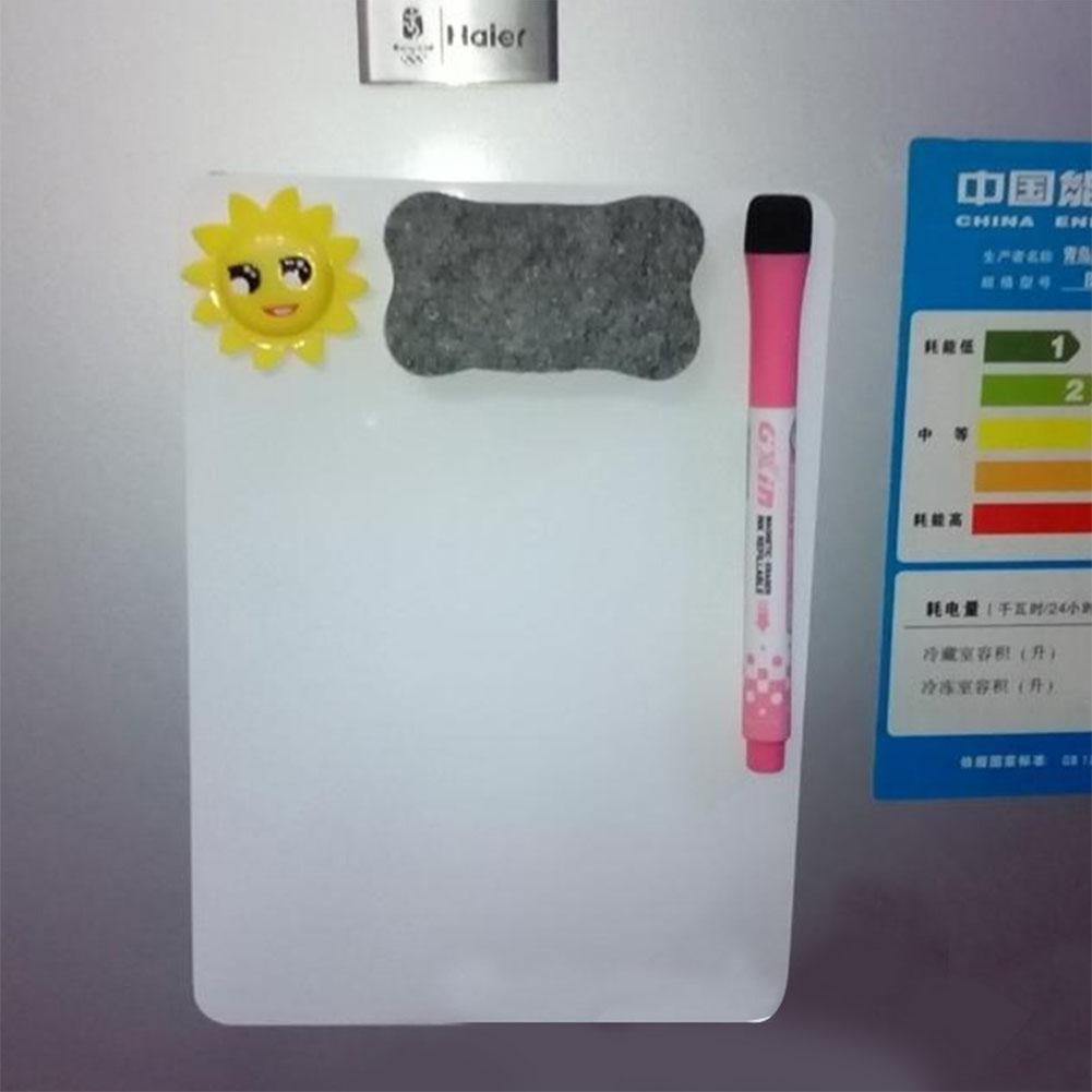 None A5 Waterproof Drawing Magnetic Message Board Cooler Refrigerator Magnet Notepad R20