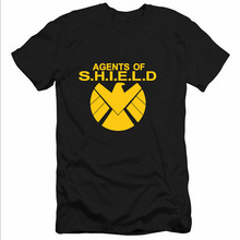Hot Sale Fashion America Captain Avengers SHIELD agents Printed Mens Men T Shirt Tshirt 2017 New Short Sleeve O Neck