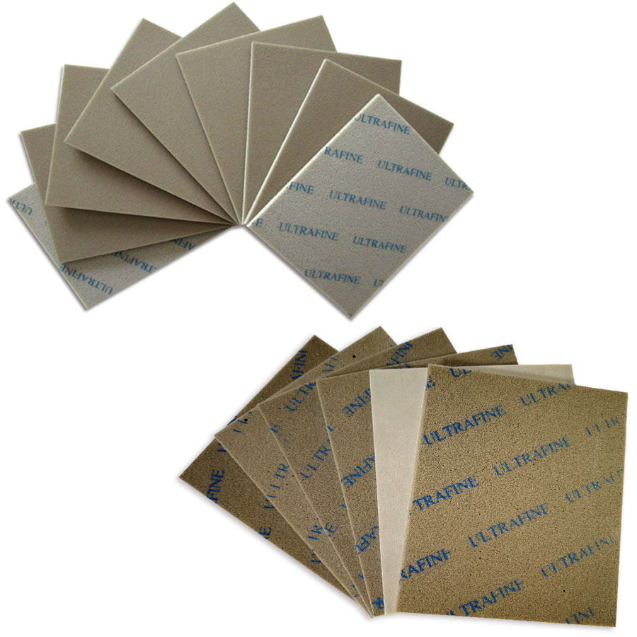 2-20Pcs 115x140mm Dry Wet Sponge Sanding Paper 800-1000 1200-1500 Grit Fine Polishing Sandpaper Abrasive Tools