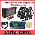 Multidiag também não bluetooth OBD2 Scanner de diagnóstico obd cdp scan plus cabos de caminhão para tcs Interface da ferramenta de diagnóstico-Código Scanner