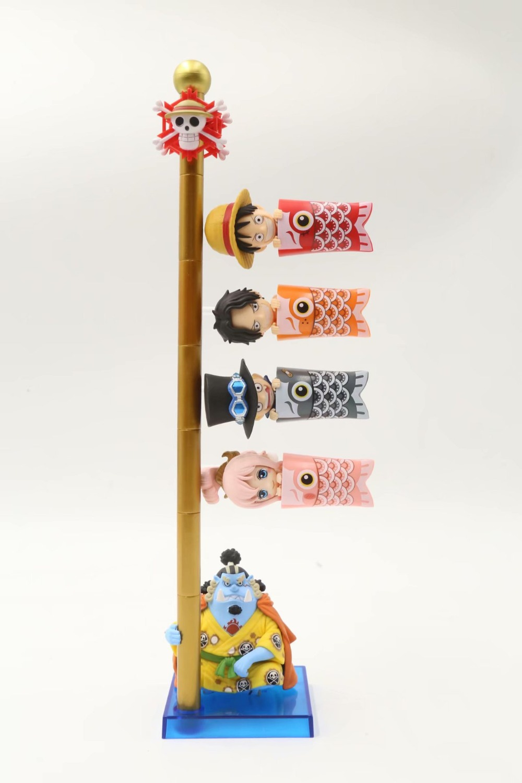 Toys & Hobbies Wcf Pvc Action Figures Collection Model Kids Toys Doll 8cm 5pcs/set Anime One Piece Luffy Ace Sabo Shirahoshi Jinbe Flag Ver