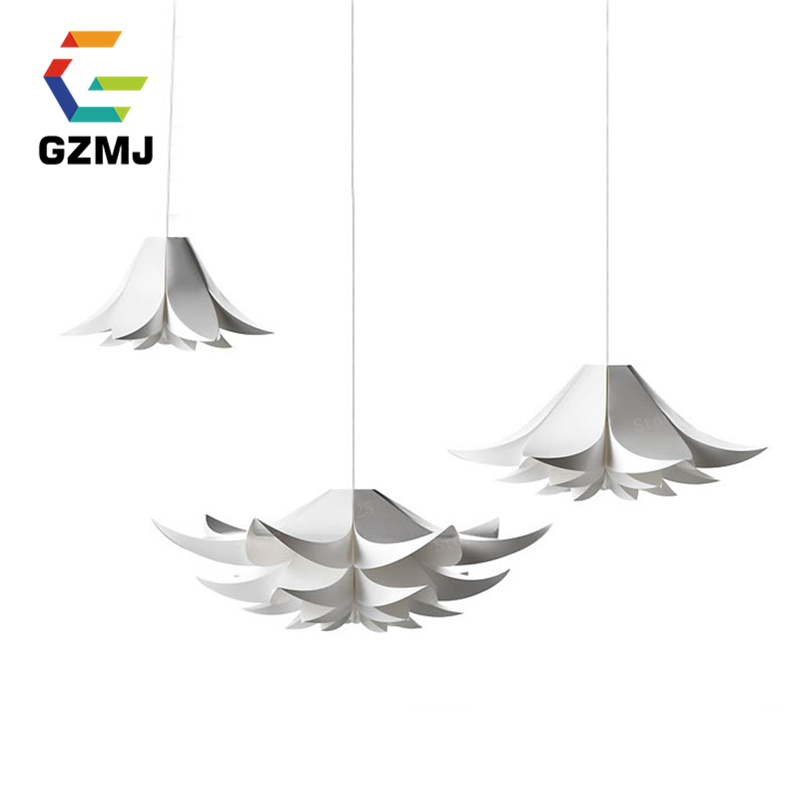 DIY Modern Pendant Lamps White Pendant Lights Fixtures LED Adjustable American Style for Restaurant Kitchen Living Room Nordic lamps new crystal pendant lights nordic european style living room restaurant bedroom modern minimalist american country iron