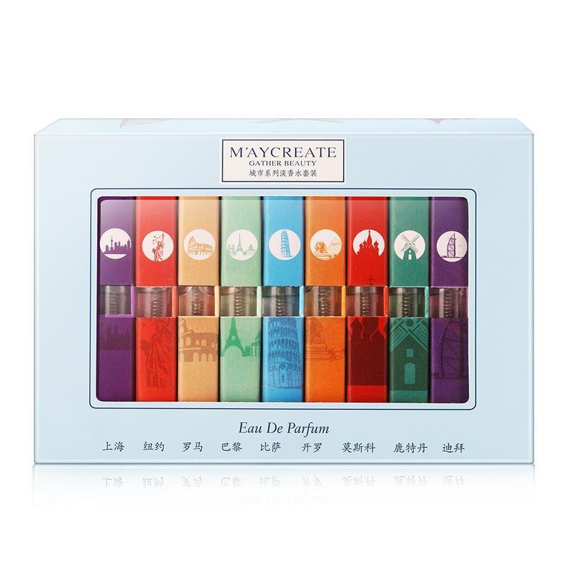 Desodorantes e Antitranspirantes 9 pcs diferente líquido perfume Marca : Bellylady