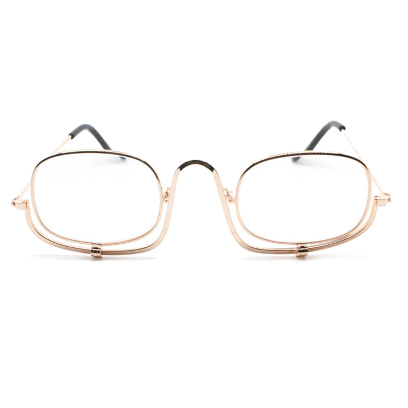 322d1263a69 Detail Feedback Questions about Mayitr 1pc Women Magnifying Folding Flip  Down Glasses Makeup Reading Glasses Eye Spectacles Folding Lens Cosmetic  Readers on ...