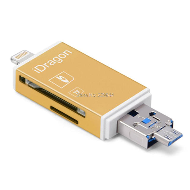 reputable site aff19 4adce US $8.79 20% OFF|Flash Drive HD USB 2.0 Micro SD Card Reader TF Card  Adapter for iphone X 8/8 Plus 7/7 Plus 6S/6S Plus S6 S7 S5 S4 S3, Note 4 3  2-in ...