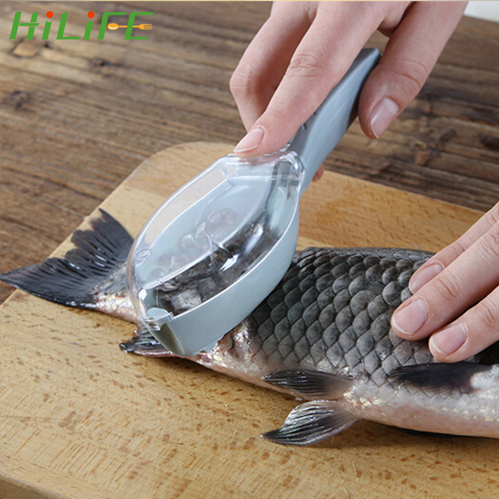 Fish Scaler Scale Scraper Clam Opener for Cleaning Scraping Fish Household Tool