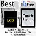 Best Da Tavolo Originale Per iPad 3 iPad3 3nd LCD A1430 A1403 A1416 Monitor A Schermo Sostituzione del Modulo + Dello Schermo di Tocco del Sensore display