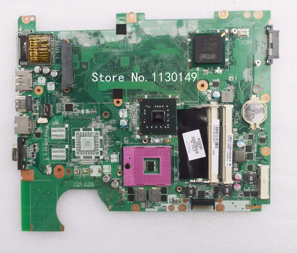 Free shipping Original 578052-001 Laptop Motherboard for HP G71 CQ71 motherboard DA00P6MB6D0 DDR2 100% Tested well original server motherboard for ml350 g4 365062 001 well tested working