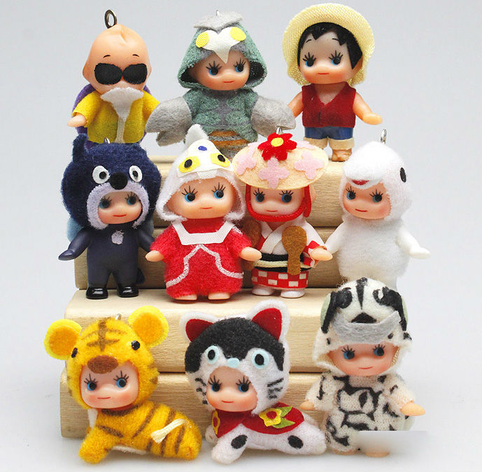 Toys & Hobbies Active Mixed Original Mini Kewpie Doll Sonny Angel Doll Set Toy,rose Oneill Commoner Sonny Angel Cosplay Series Pvc Figure Doll Toys Regular Tea Drinking Improves Your Health