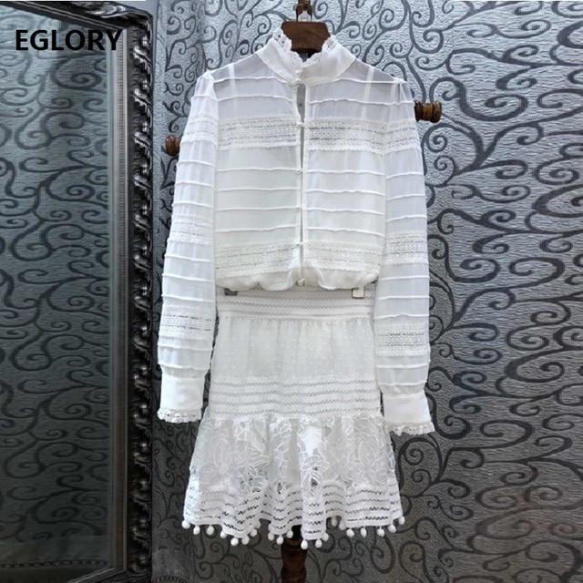 f1a92c4418 Grado Superior de conjuntos de ropa de Primavera de 2019 falda traje de las  mujeres de