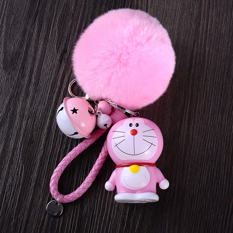 [LORDUPHOLD]Very Cute Car Key Chains Rings Automobiles Accessoires KeyChain Auto  Parts Automotive Pink