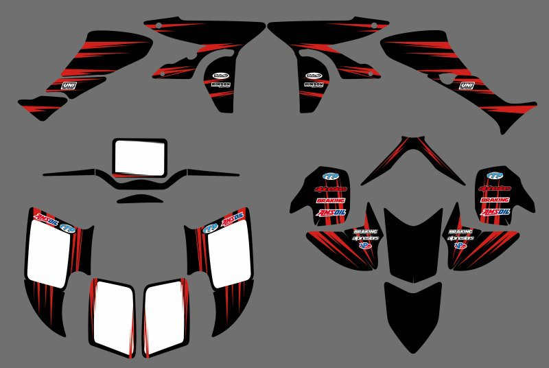 0348 New STYLE  DECALS STICKERS  Graphics Kits Fit for Honda TRX450R TRX 450R fourtrax ATV TRX 450 R сервер dell poweredge t430 210 adlr 004