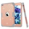 Новый Для iPad mini 123 Случаях Алмазов Дети Baby Safe Силиконовый Чехол Броня Противоударный Heavy Duty Жесткий Tablet Чехол + Стилус