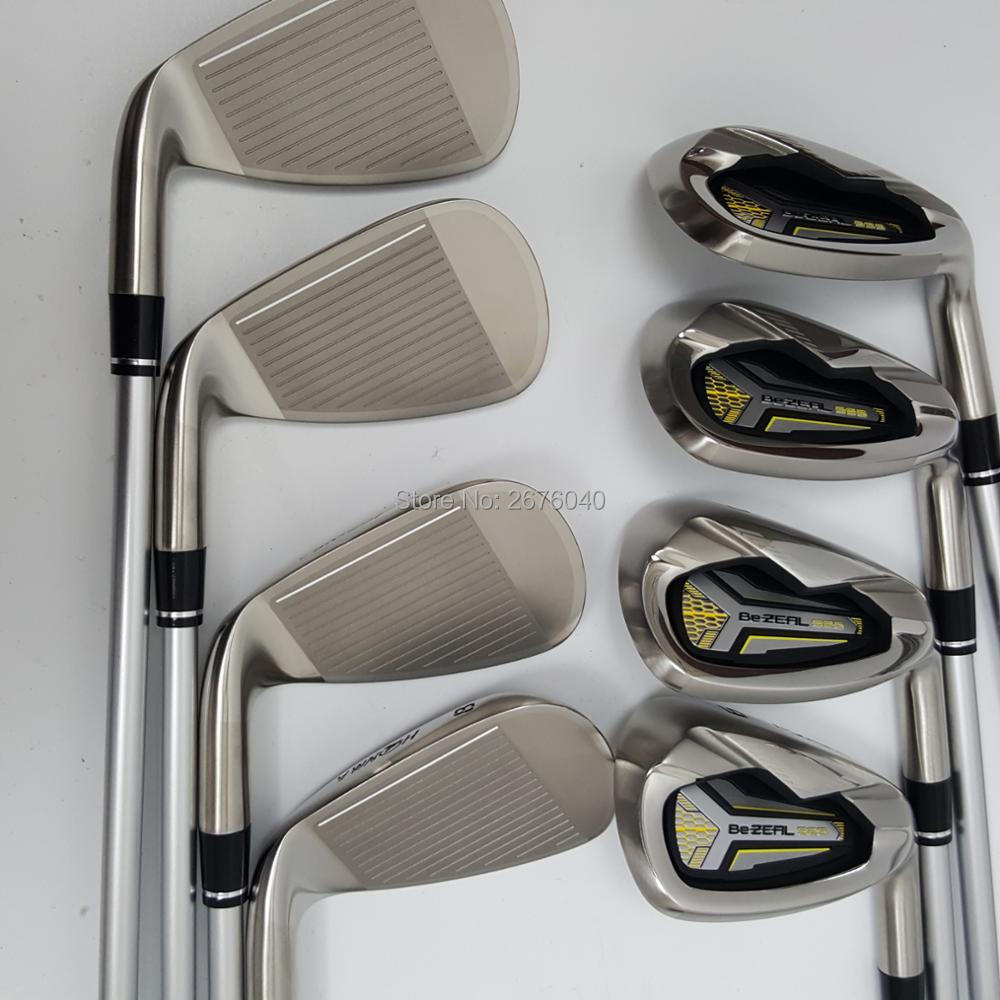 Image 3 - Golf  irons HONMA BEZEAL 525 Golf clubs with Graphite Golf shaft R or S flex 8 piece Free shipping-in Golf Clubs from Sports & Entertainment