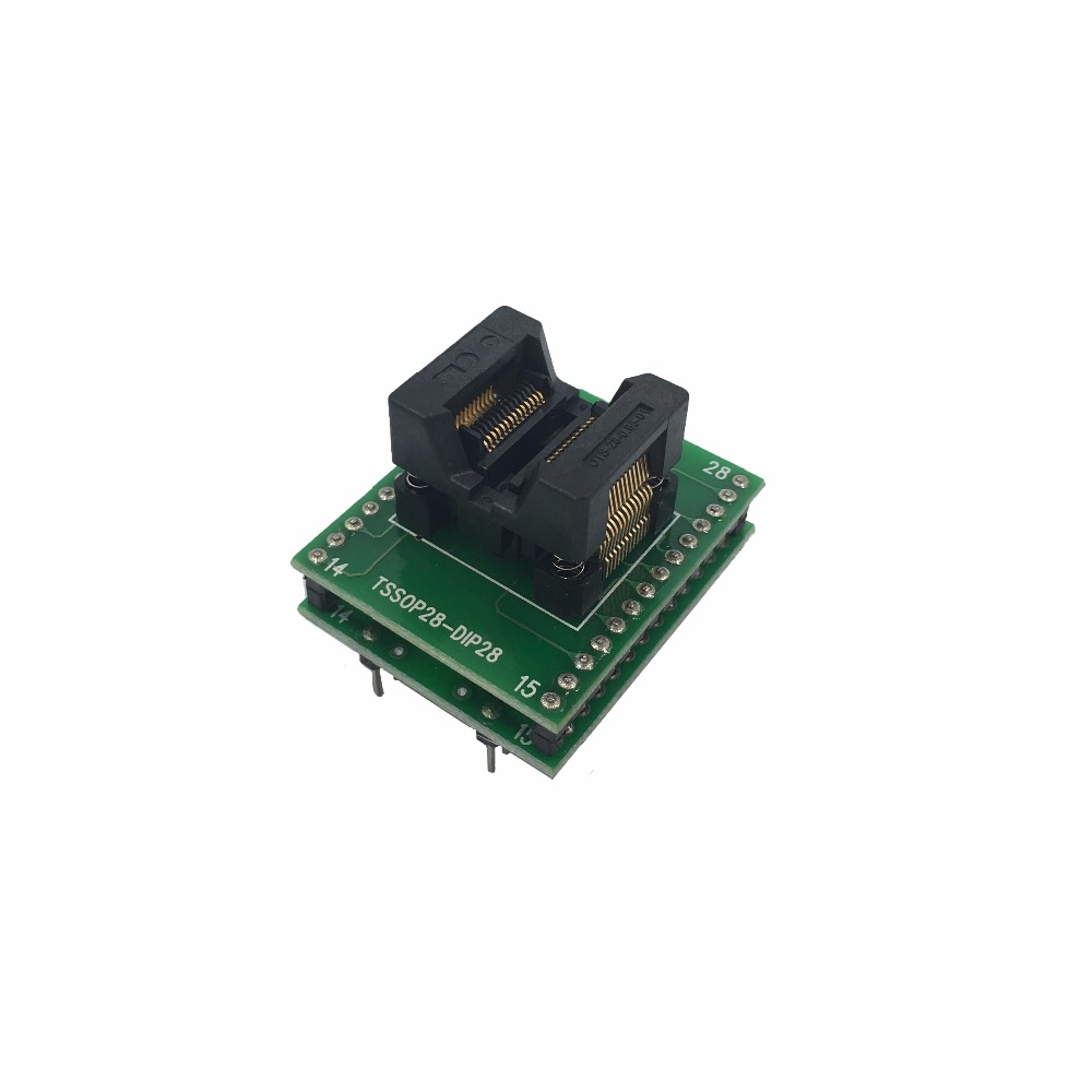 rt809h SOP28 to DIP28 Adapter Socket IC SOIC28 to DIP28 SOP16 to DIP16 SOP20 to DIP20 IC test programmer adapter SMT Test Socket tsop32 dip32 adapter test socket ic socket for prom8908e programmer adapter 14mm 12 4mm