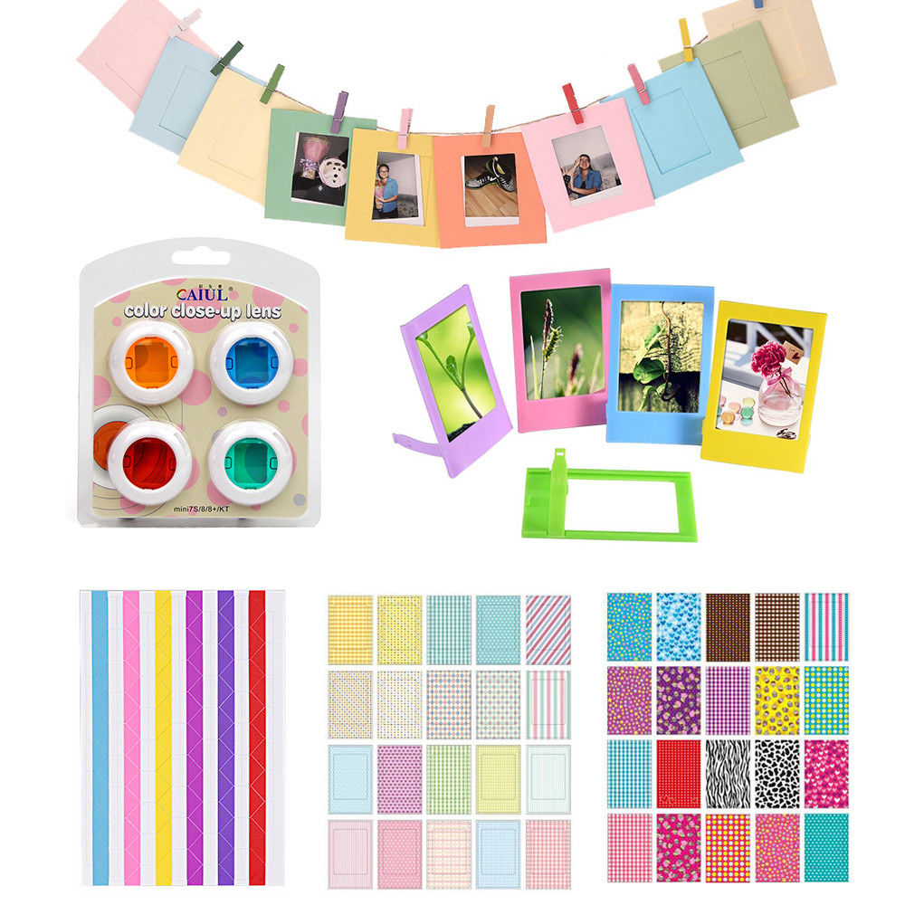 4 Colors Filter Stickers Photo Frame For Fujifilm