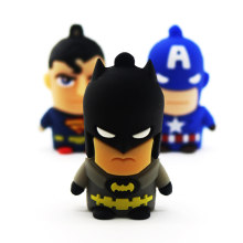 USB dos desenhos animados Flash Drive Super heros pen drive gb 64 32gb Batman/Superman USB Flash 16gb 8gb 4gb Memory Stick pendrive U disk(China)