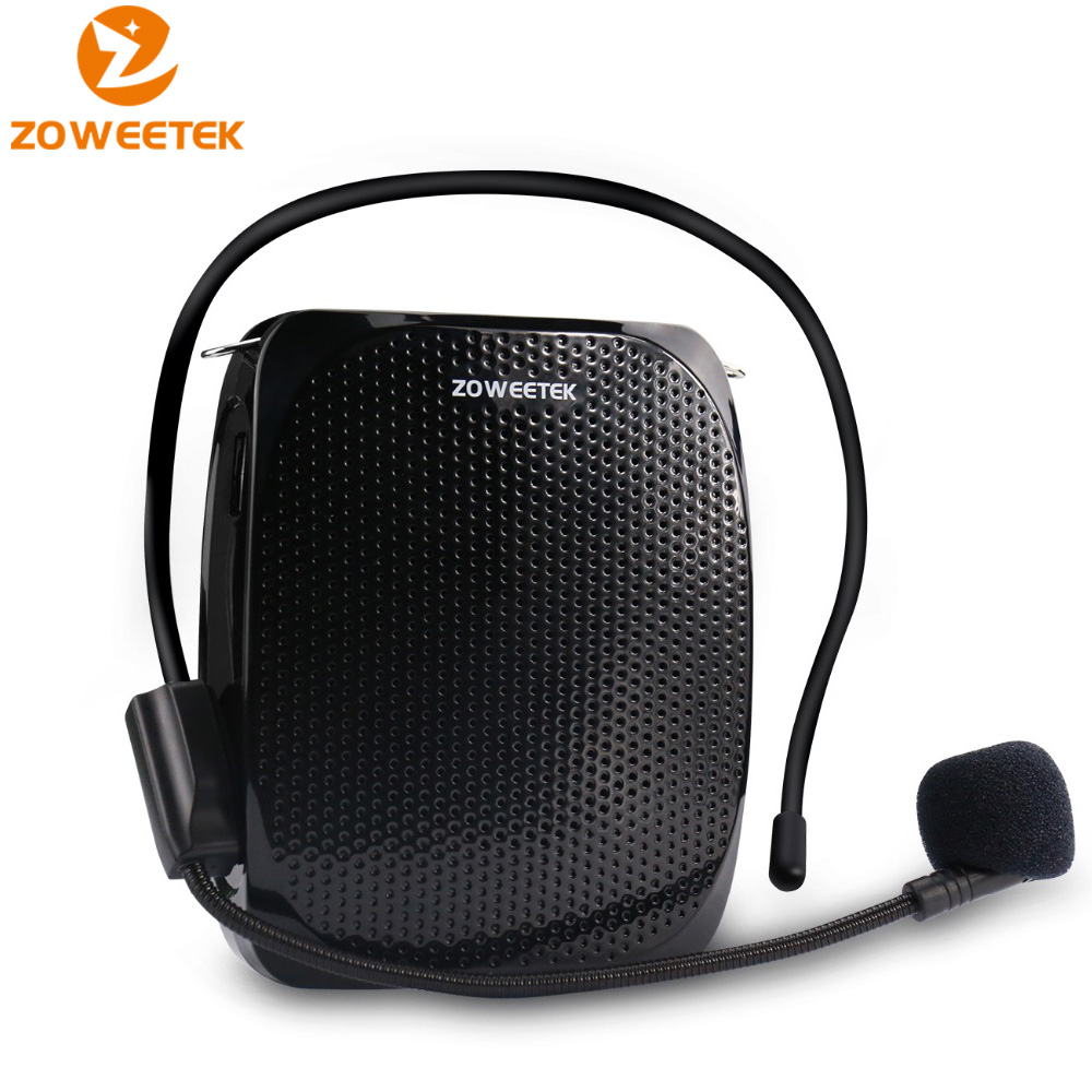 10W Wired Mini Audio Speaker Portable Voice Amplifier Natural Stereo Sound Microphone Loudspeaker For Tour Guide Speech