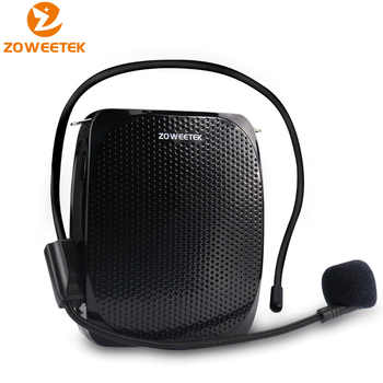 Zoweetek 10W Wired Mini Audio Speaker Portable Voice Amplifier Natural Stereo Sound Microphone Loudspeaker for Tour Guide Speech - DISCOUNT ITEM  18% OFF All Category