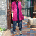 Jaqueta de Inverno tradicional Chinesa Original Primavera Outono Mulheres Casaco Fino Acolchoado Para Baixo Casaco Jaqueta Feminina Abrigos Mujer