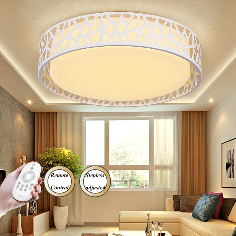 T Simple Bedroom Ceiling Light Sweety Circular Acylic