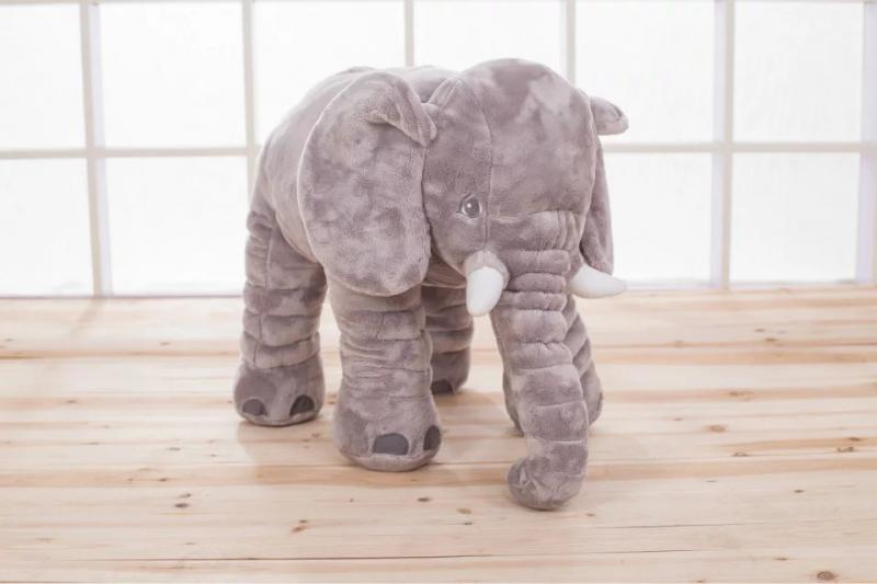 ded8b380214 Personalized Monogrammed Soft Elephant With Your Choice Of Name Monogram On Ear  Plush Animal Toy Plushies Special Gift For Kids-in Stuffed   Plush Animals  ...