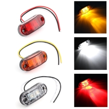 цена на iSincer LED Bar Off Road LED Work Light 12V 24V Front Side Marker Light Position Truck Trailers side lights Side Lamp
