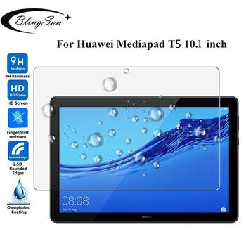Dla Huawei MediaPad T5 10 szkło hartowane AGS2-W09 L09 L03 W19 9H 10 1 #8221 ochrona ekranu tabletu folia ochronna dla Huawei T5 10 tanie i dobre opinie 1 Paczka Odporne na zarysowania TEMPERED GLASS for Huawei MediaPad T5 10 10 1 inch (AGS2-W09 L09 L03 W19) Blingson Tablet Protective Film