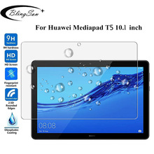 "For Huawei MediaPad T5 10 Tempered Glass AGS2-W09/L09/L03/W19 9H 10.1"" Tablet Screen Protector Protective Film for Huawei T5 10"