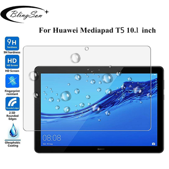 For Huawei MediaPad T5 10 Tempered Glass AGS2-W09/L09/L03/W19 9H 10.1'' Tablet Screen Protector Protective Film for Huawei T5 10