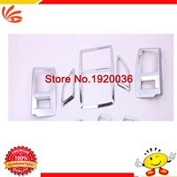 Chrome Air Conditioning Vent Outlet Cover Central Control Left And Right Sticker Center Control Panel Cover