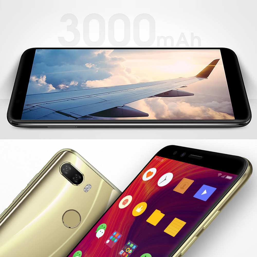 Lenovo K5 Play L38011 3GB 32GB 4G Mobile Phone 5.7'' Snapdragon MSM8937 Octa Core Rear Camera 13MP 2MP Front Camera 8MP