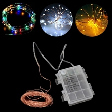 10m LED Light String Waterproof Remote Control Fairy Lamps 8 Modes Copper Wire usb 10m 8 modes 100 led string light christmas waterproof copper wire led string fairy light battery powered remote control