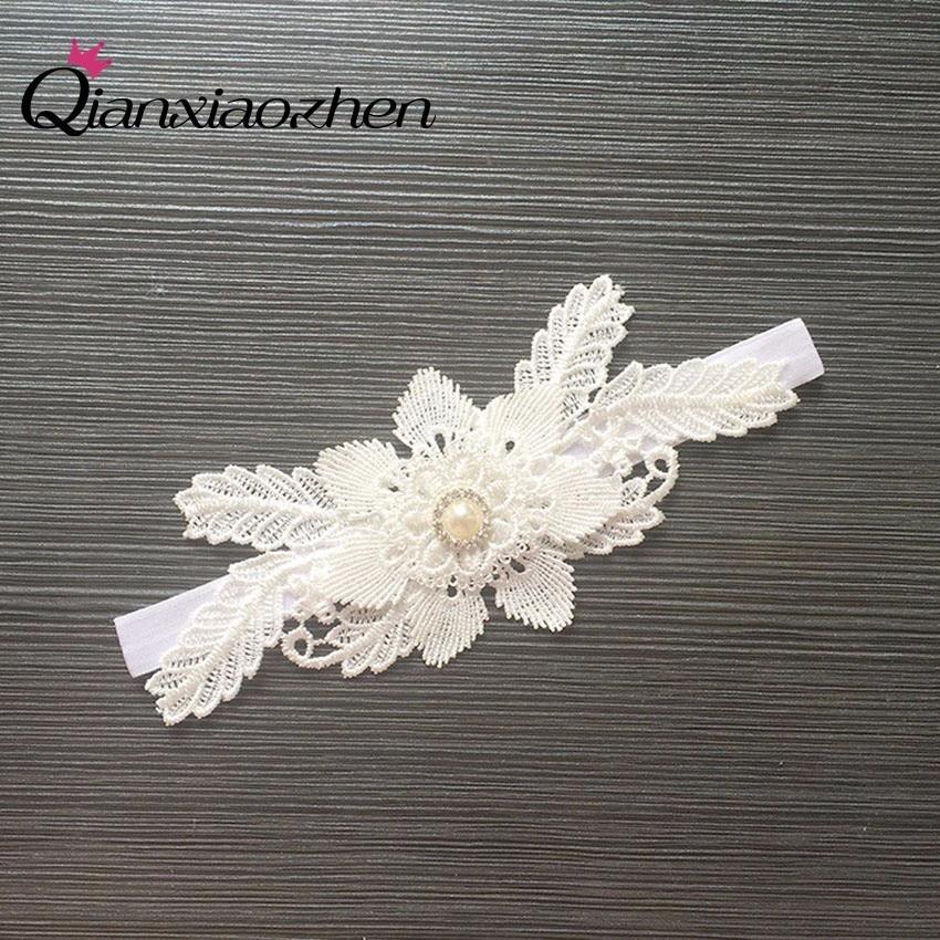 What Is Wedding Garter: Qianxiaozhen Flower Lace Leg Wedding Garter Bridal Garters