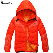 Winter Men Hooded Down Jackets Zipper Slim Clothing Mens Warm  Thick