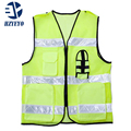 Free shipping Safety Clothing high visibility adult traffic reflective safety vest building worker fishing vest HZYEYO  D 9907