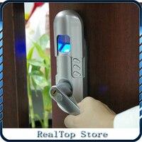 Клавиатура Keyless цифровой электронный дверной Замки отпечатков пальцев замок с одной защелки Правша