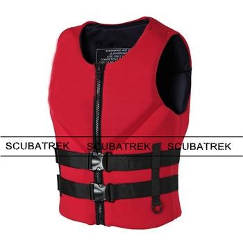 Black Neoprene Life Jacket Vest 150 N  Kayaking Swimming Manufacturers