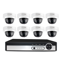 H265 NVR 5.0MP HDMI POE NVR CCTV System Indoor IP66 IP Camera P2P Onvif Security Surveillance Kit Motion Detect APP View Full HD