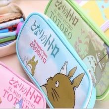 Totoro Pu Leather Pencil Case
