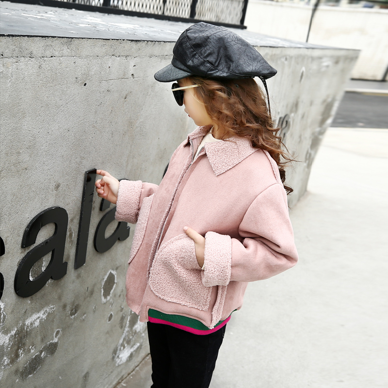 Teenagers Baby Girls Jackets Winter Warm Coats Long Sleeve Turn Down Collar Jacket Kids Clothes 4 5 6  78 9 10 11 12 13 14 15t fashion slim children winter down jackets baby boy girls long sleeve coats warm down kids outerwears for cold 30 degree jacket