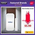 Original KERUI D025 433 MHz inalámbrico ventana puerta imán Detector para el hogar sistema de alarma inalámbrica