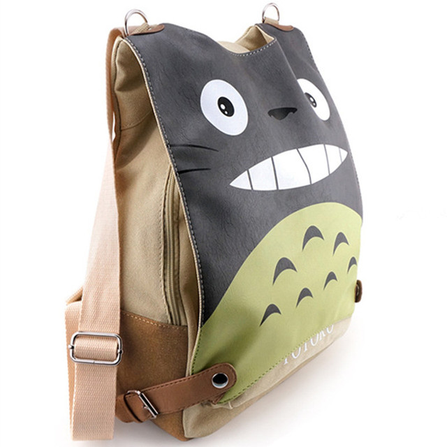 Studio Ghibli My Neighbor Totoro – Canvas Multifunctional Totoro Backpack