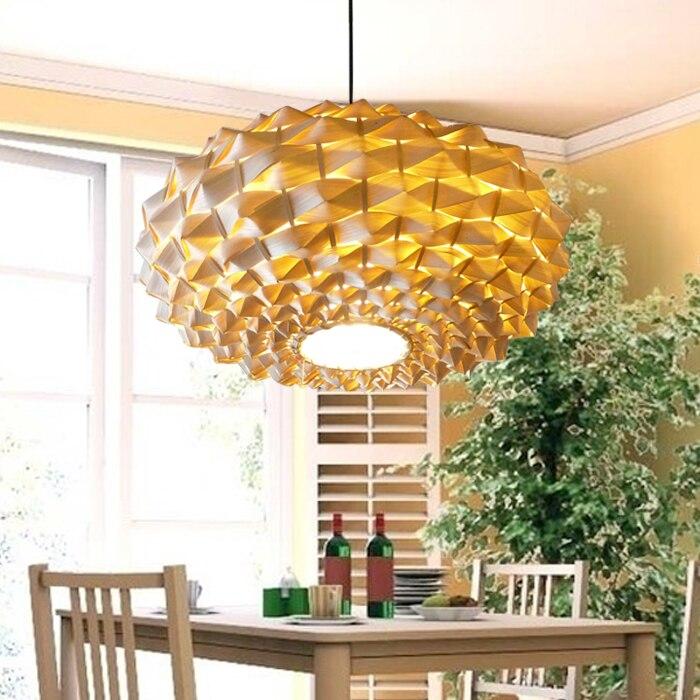 Натуральные Экологичные бамбуковые подвесной светильник лампы в китайском стиле e27 лампа